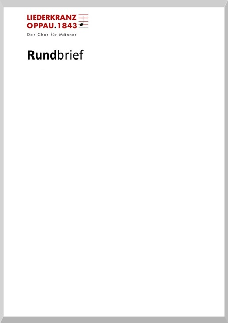 Rundbrief Mai 2018